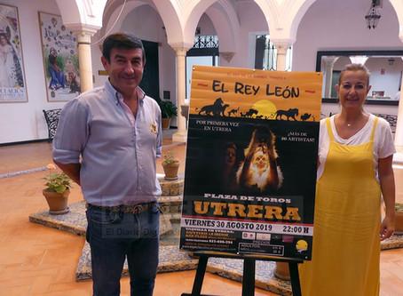"""""""El Rey de la Sabana, Tributo al Rey León"""", El Musical infantil visita Utrera"""