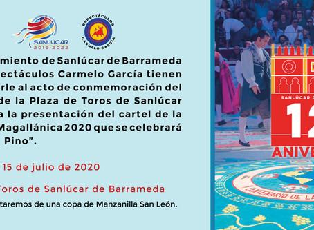 Este miércoles es el día del 120 Aniversario de la Plaza de Toros de Sanlúcar y lo celebramos juntos