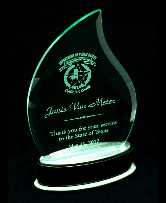 Glass Flame Award