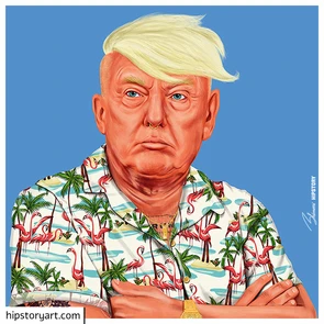 Affiche Trump Hipstory Art