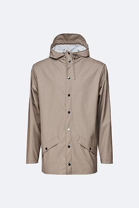 Jacket short taupe Rains