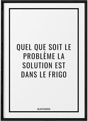 Affiche Frigo...