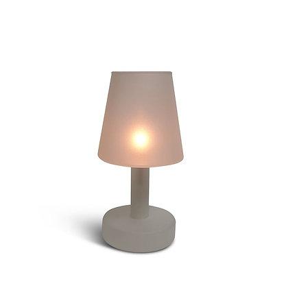 Lampe bougie verre dépolie Periglass
