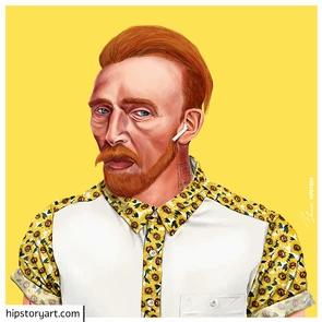 Affiche Van Gogh Hipstory Art