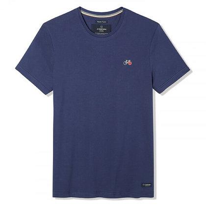 Tee-shirt bleu Baptiste La Gentle Factory