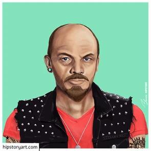Affiche  Lenine Hipstory Art