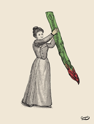Affiche Miss Asparagus Gangzaï