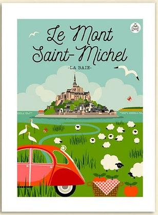Les petits Yéyés affiche Le Mont Saint-Michel