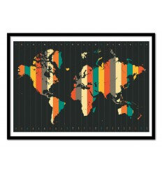 Affiche Time Zone Wall Editions