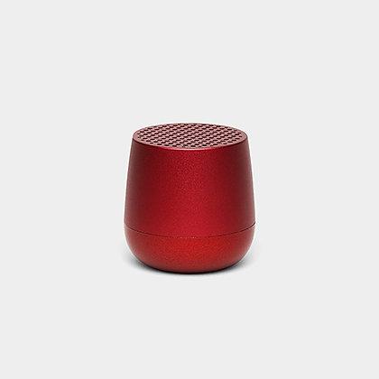 Enceinte Mino rouge métal Lexon