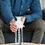 Thumbnail: Gourde thermos en verre avec gobelet 450ml Dopper