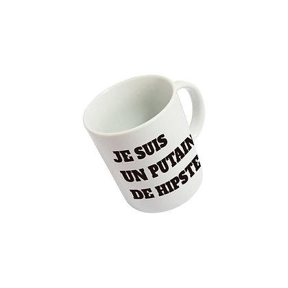 Mug Putain de hipster Fisura