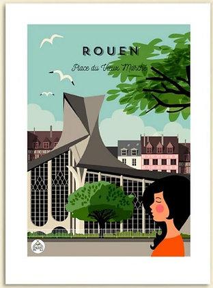 Les petits Yéyés affiche Rouen