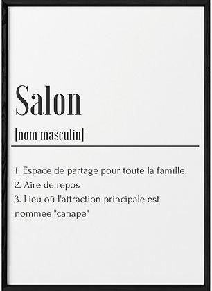 Affiche Salon...