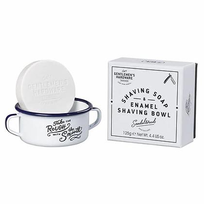 Bol émail+ savon à barbe Gentlemen's hardware