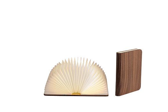 Lampe livre bois foncé Taille M