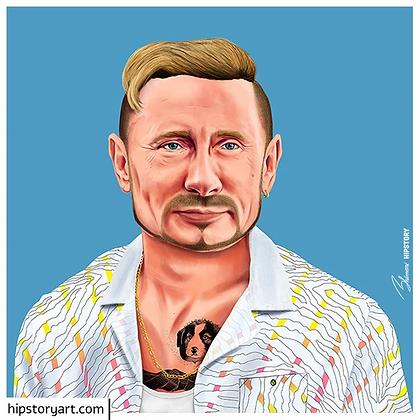Affiche Poutine Hipstory Art