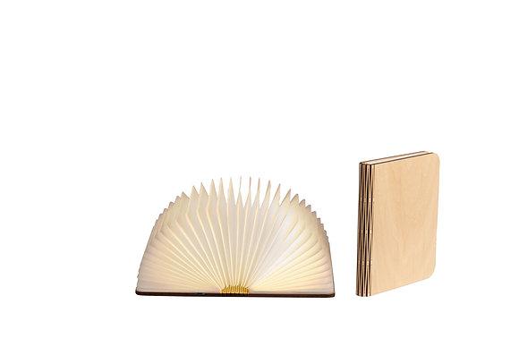 Lampe livre bois clair Taille M