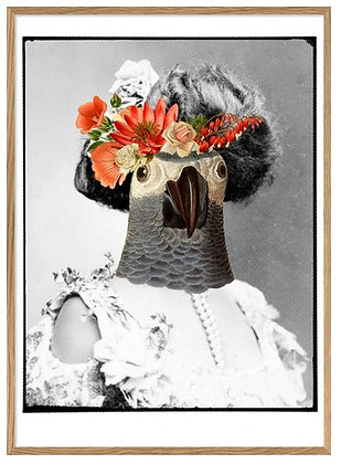 """Affiche """"Mrs Florence"""" The Dybdahl Co"""