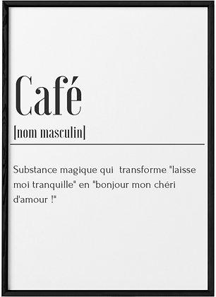 Affiche Café...