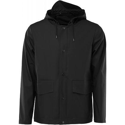 Hooded short noir Rains