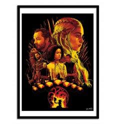Affiche House Targaryen Wall Editions