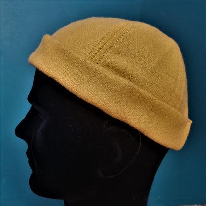 Miki ajustable en laine moutarde