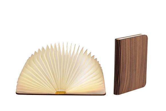 Lampe livre bois foncé Taille L