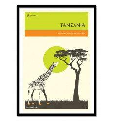 Affiche Tanzani Wall Editions