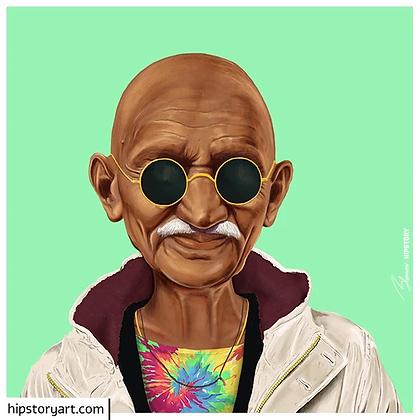 Affiche Gandhy Hipstory Art