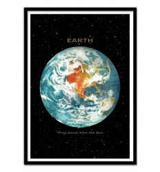 Affiche Earth Wall Editions
