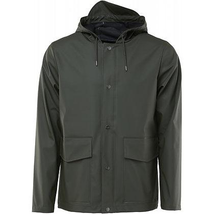 Hooded short vert Rains