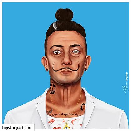 Affiche Dali Hipstory Art