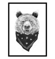 Affiche Ours Wall Editions