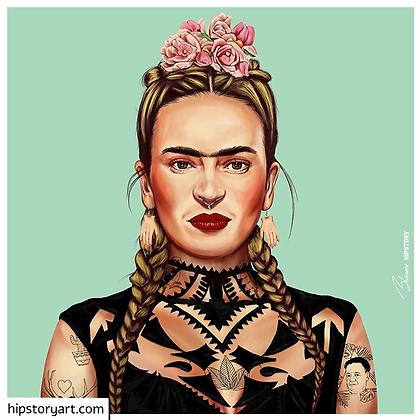 Affiche Frida Kahlo Hipstory Art