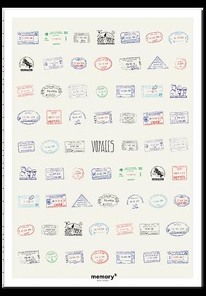 """Affiche """"L'affiche qui fait le tour du monde"""" Memory Affiches"""