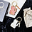 Thumbnail: Porte clé Manekineko blanc Donkey