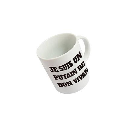 Mug Putain de bon vivant Fisura