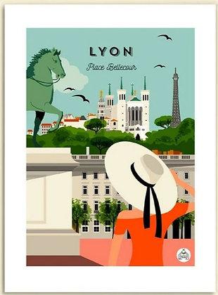 Les petits Yéyés affiche Lyon Place Bellecour