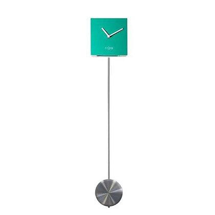 Horloge balancier verte Fisura