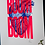 Thumbnail: Affiche Boom Boom rose Pappus Editions