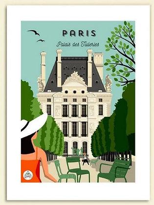 Les petits Yéyés affiche Paris Palais des Tuileries