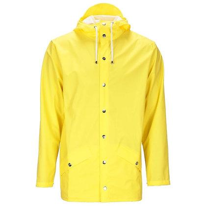 Jacket short jaune Rains