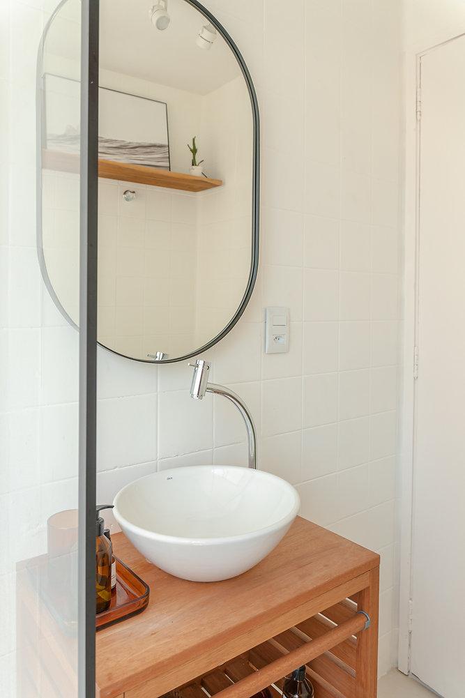 Banheiro branco | coraarq