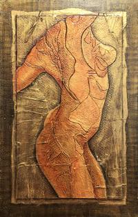 Nude in Gold & Bronze