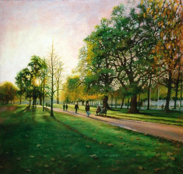 St James Park. Autumn