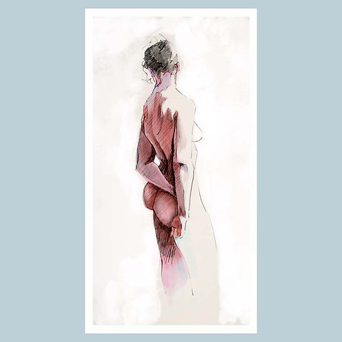 Kate Standing (looking away) (Giclée Print) on Hanehmuhle paper 40.5 x 20.5 cm