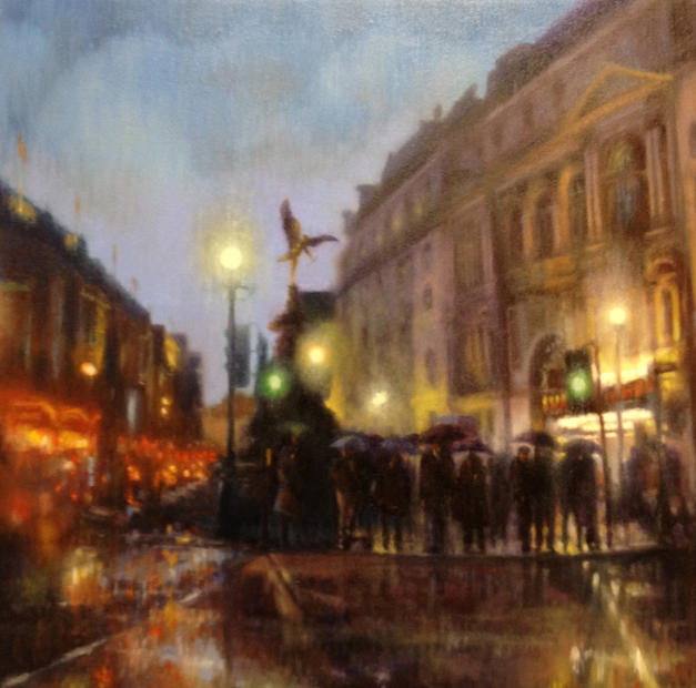 Piccadilly in the Rain