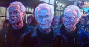 Tony Clews - Triple Portrait
