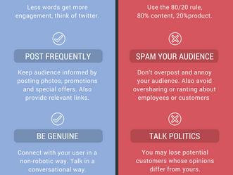 Infographic: Facebook Do's & Don'ts